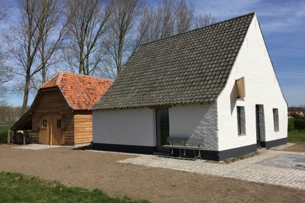 kaleien van ovenhuisje Moerkerke-Damme