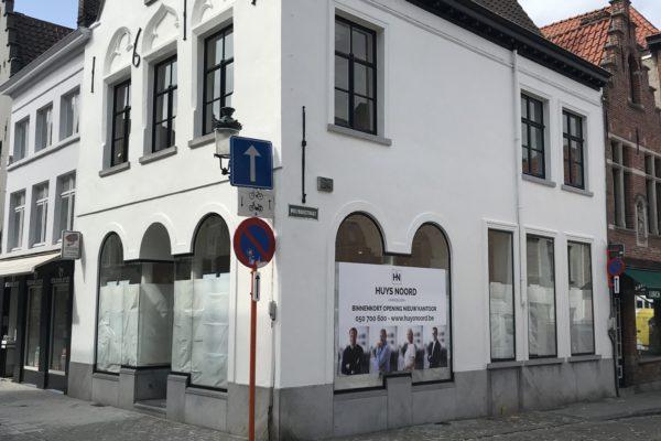 Schilder- en kaleiwerken Brugge Immo Huys Noord