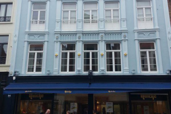 Schilderwerken Schoenen Quicke Brugge